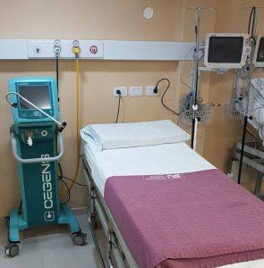 cama de unidad de terapia intensiva